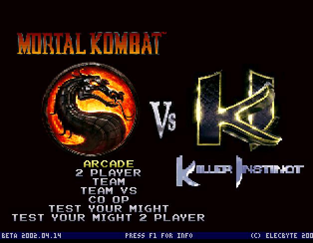 Mortal Kombat VS Killer Instinct