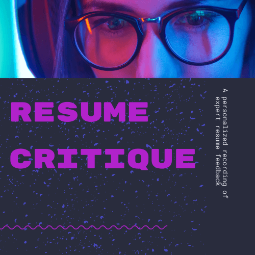 Personalized Resume Review
