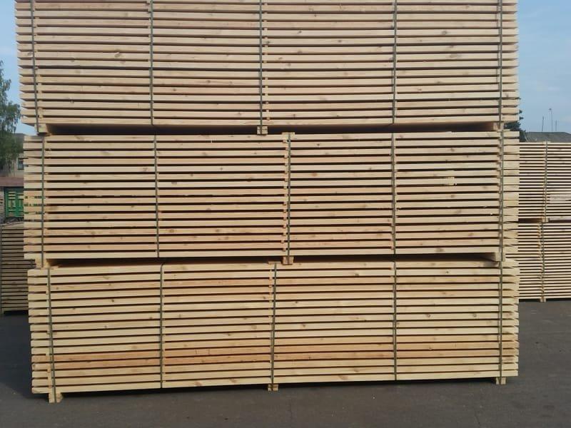 Pjautinė spygliuočių mediena