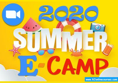 اطلب نسختك من منهاج المخيم الصيفي للأطفال على زوم E-Camp 2020