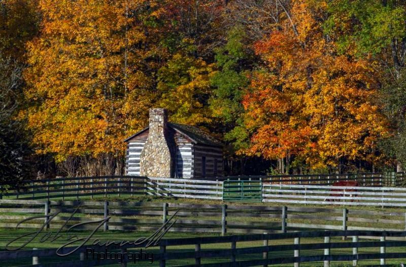 Hale Farm and Village in Fall