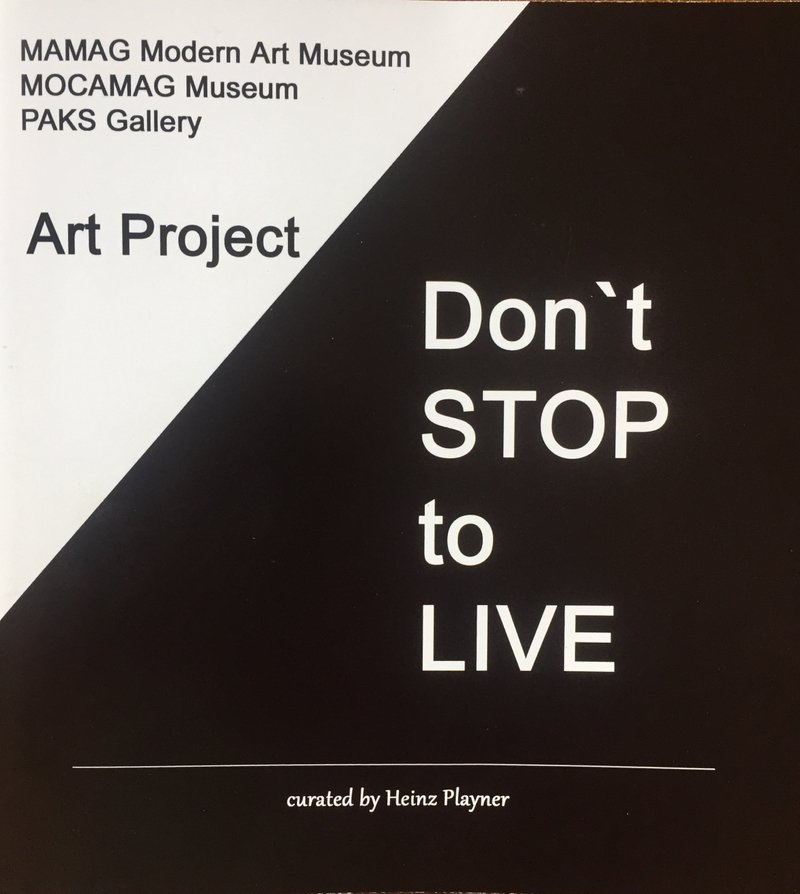 Don't STOP to LIVE:  Video and Catalogue, May 2020