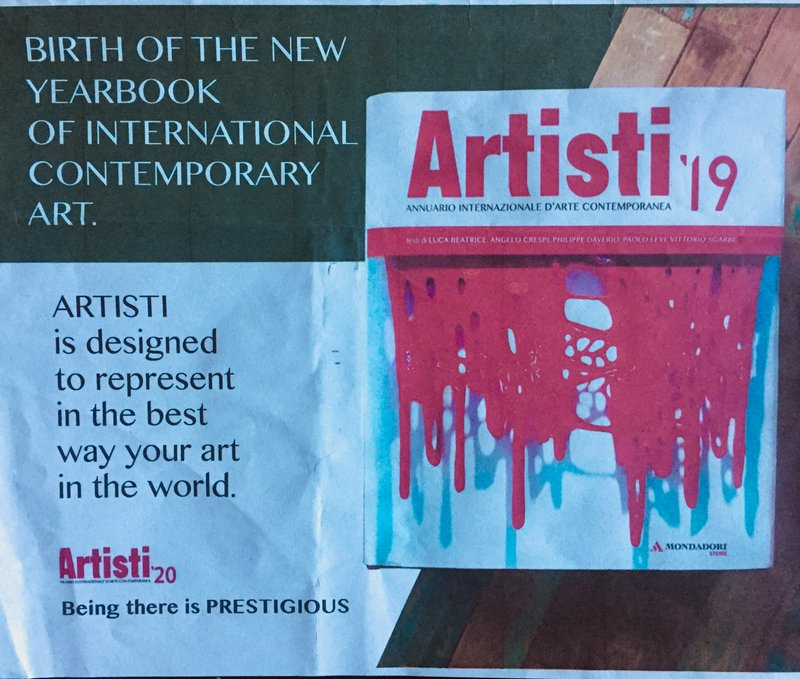 Aristi '19: Yearbook of International Contemporary Art