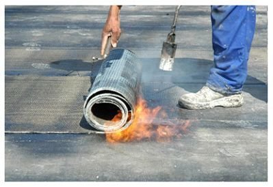TORCH DOWN RUBBER ROOFS