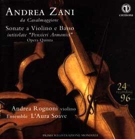 Andrea Zani, Sonate a violino e basso op. V