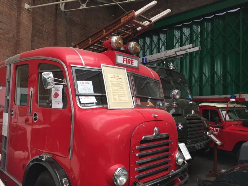 Museum owned commercial and fire fighting equipment