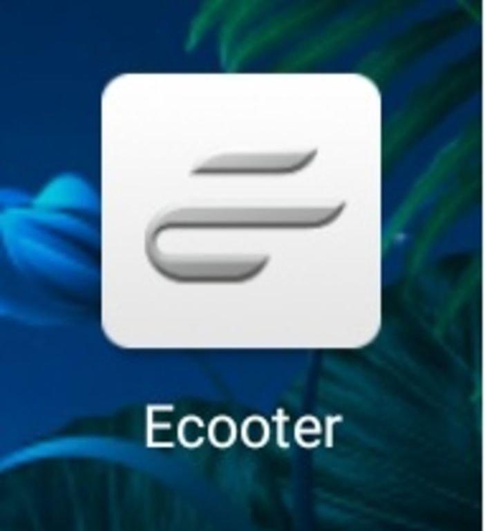 Le logiciel Ecooter pour smartphone