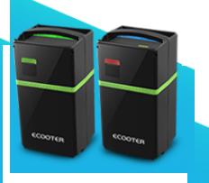 Les batteries du Ecooter