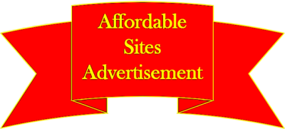 affordable sites advertisement