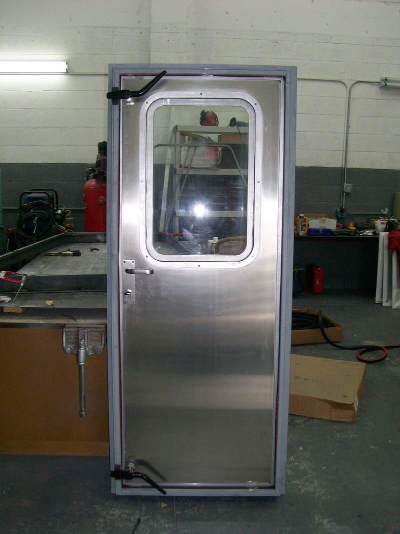 MARINE ALUMINUM WEATHER TIGHT DOORS