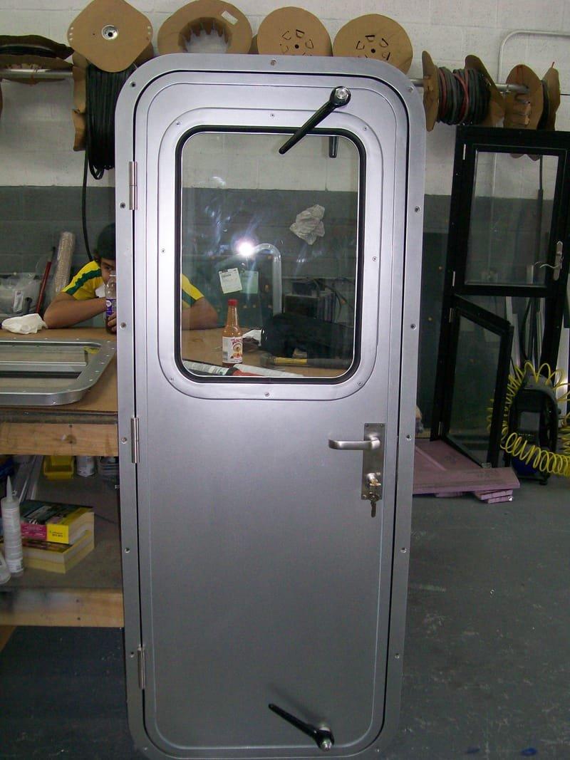 MARINE WELDED WEATHER TIGHT STEEL DOORS