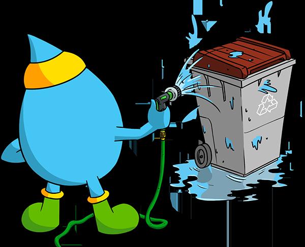 Gestion des containers et débarras