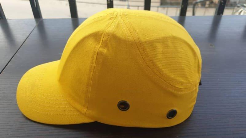 Yellow Safety Bumper Cap Standard.