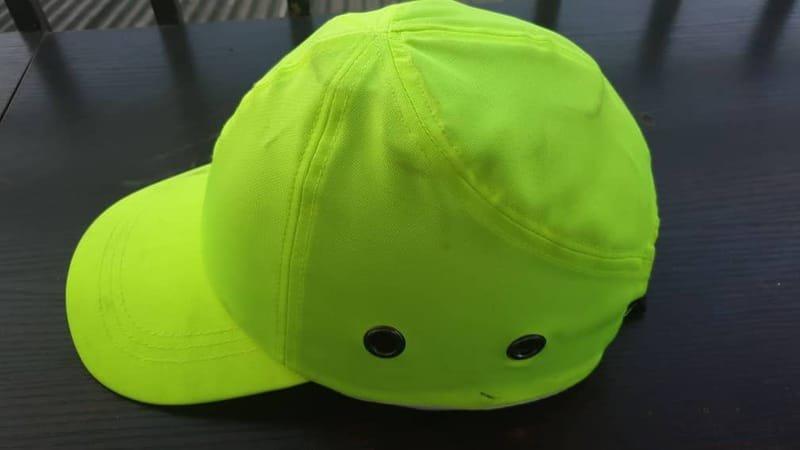 Green Safety Bumper Cap Standard.