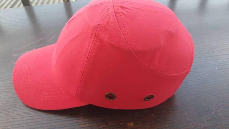 Red Safety Bumper Cap Standard.