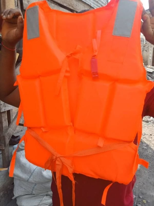 Red Life Jacket Basic with Reflector