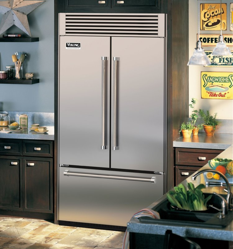 Viking fridge not getting cold