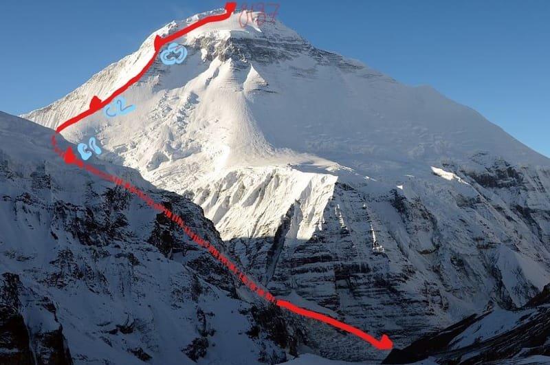 Восхождение на Дхаулагири 8167-  2022, Непал, Гималаи