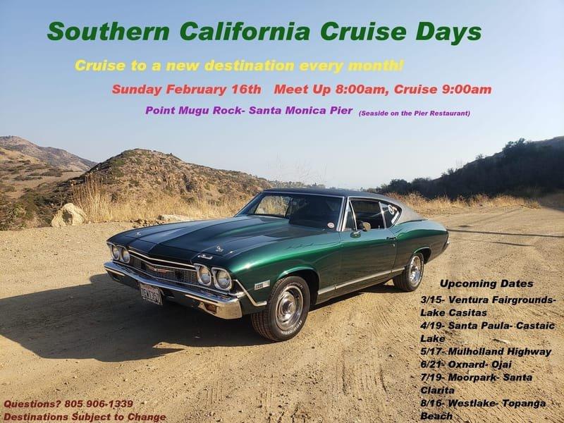 Southern Callifornia Cruise Days