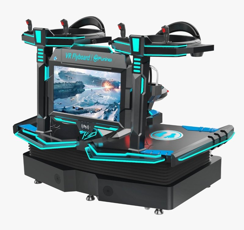 VR Adventure Machine - Buckle up & get ready for great action!