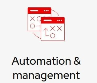Automation and management