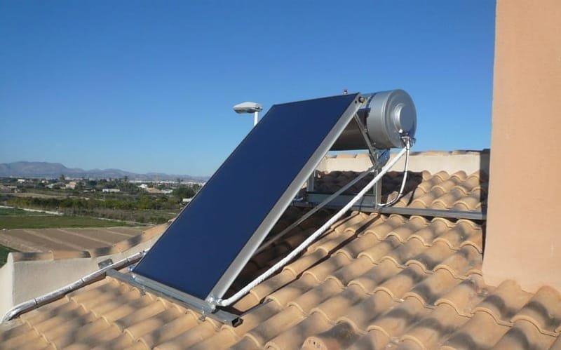 Placas solares de ACS