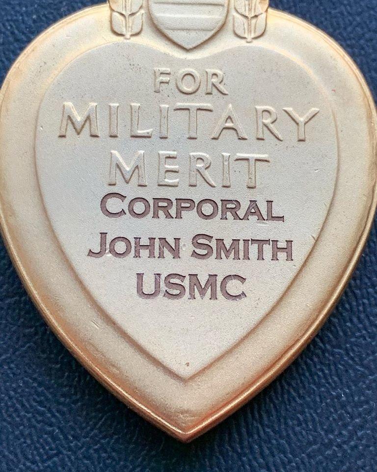 US Military Medal Engraving