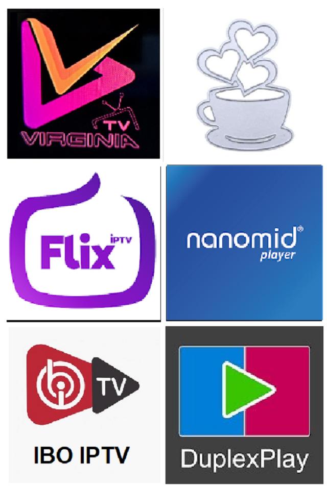 تطبيقات IBO , Flix , Virginia , nanomid , Duplex