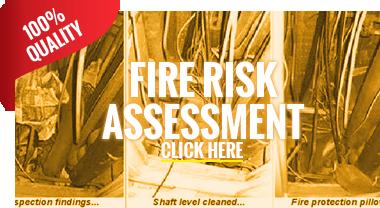 Fire Risk Assessment Inspection - Fitzrovia, London