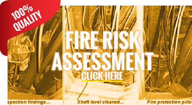 Fire Risk Assessment Inspection - Canary Wharf, London