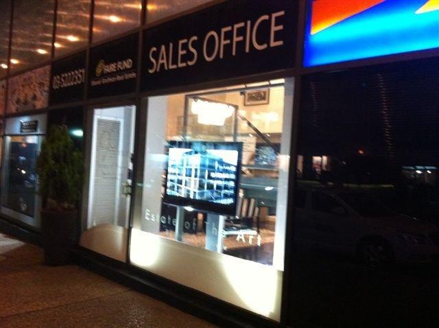 משרדי מכירות ודירות לדוגמא