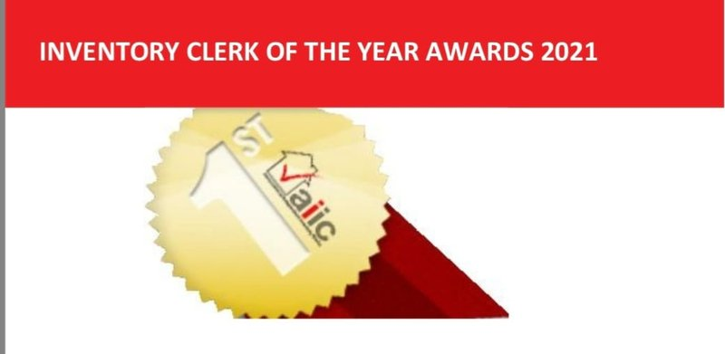 INVENTORY CLERK OF THE YEAR AWARDS - 2021