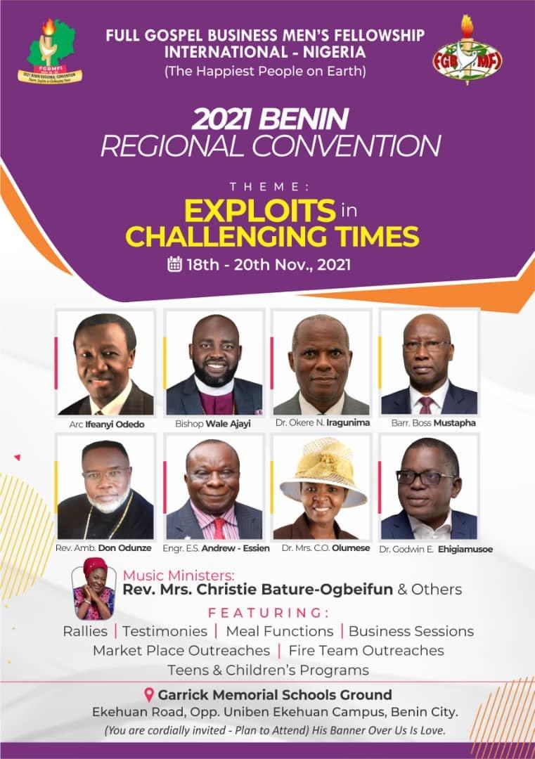 2021 Benin Regional Convention