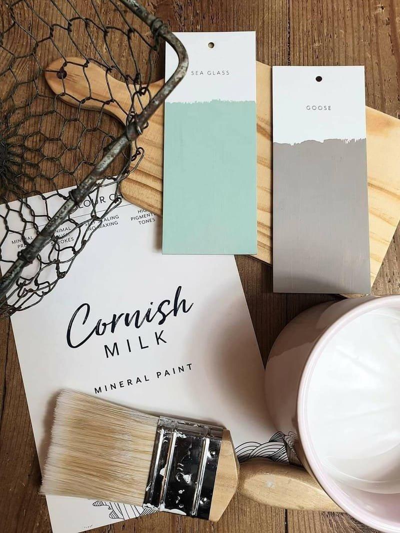 About Cornish Milk Mineral Paint