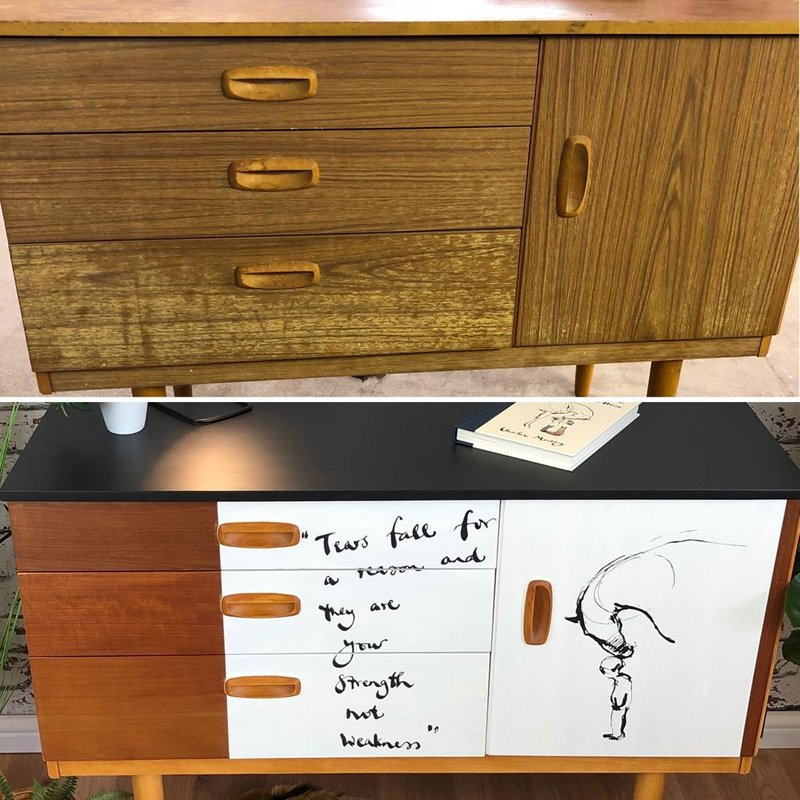 About Refinished Furniture