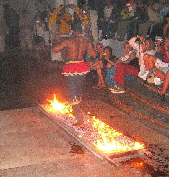 Question n°33 : Comment marcher pieds nus sur des charbons ardents ?