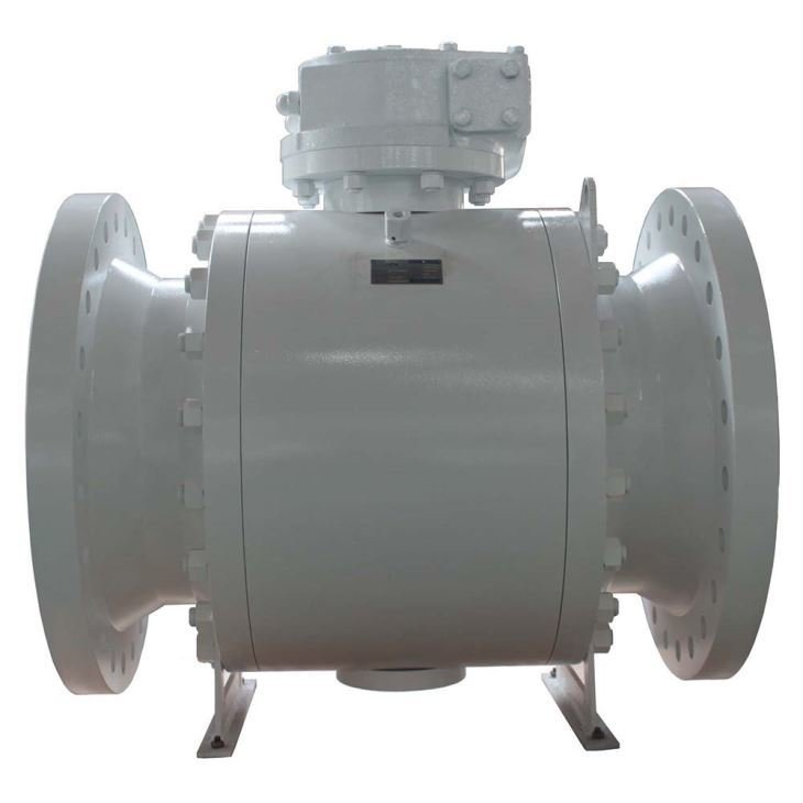 FCT Side Entry Trunnion Mounted Ball Valve