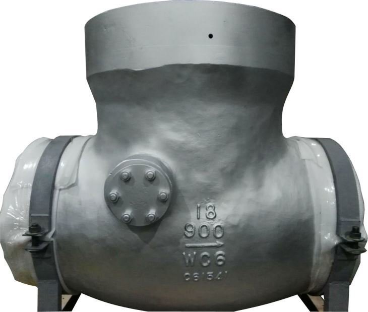 FCT Pressure Seal Tilting Disc Check Valve