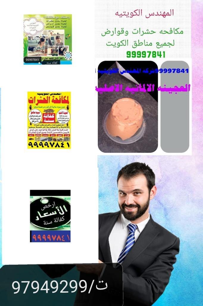 مكافحة حشرات الكويت المهندس99997841