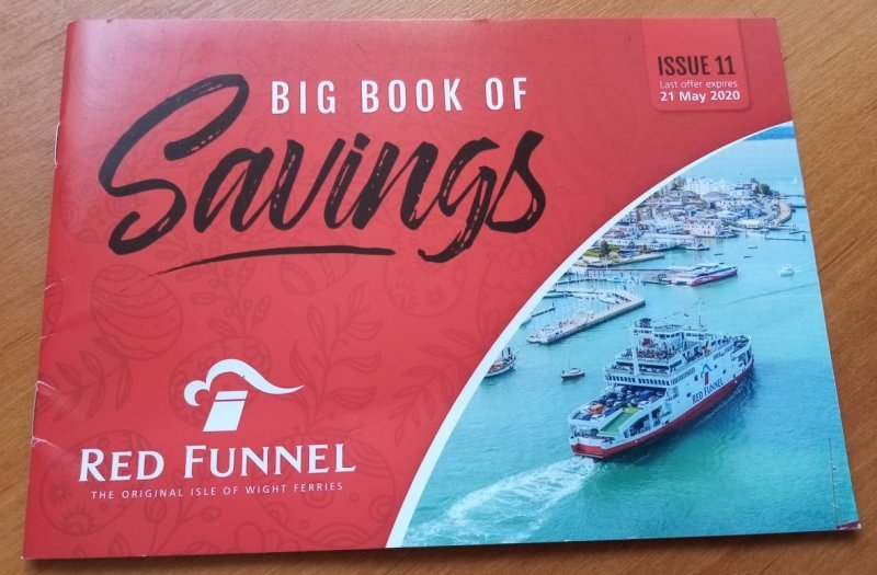 The Red Funnel Big Book Of Savings