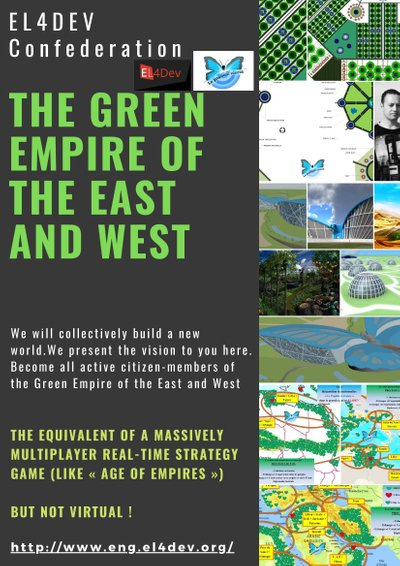 The Green Empire of the East and the West - The EL4DEV Confederation