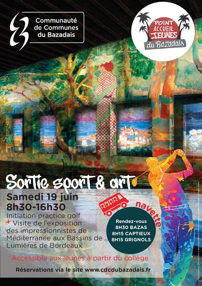 19 juin 2021 - Sortie sport & ART JEUNESSE