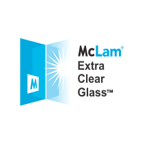McLam® EXTRA CLEAR GLASS™ (ECG)