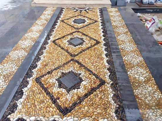 Supply and installation of hard scape works
