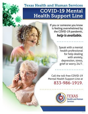 COVID-19 Mental Health Support Line