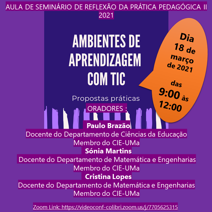 AMBIENTES DE APRENDIZAGEM COM TIC: PROPOSTAS PRÁTICAS