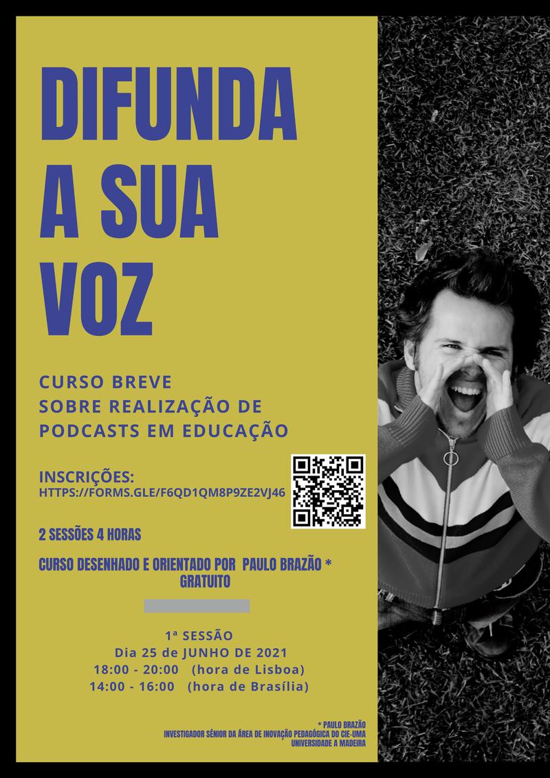REALIZAÇÃO E PUBLICAÇÃO DE PODCASTS EM EDUCAÇÃO