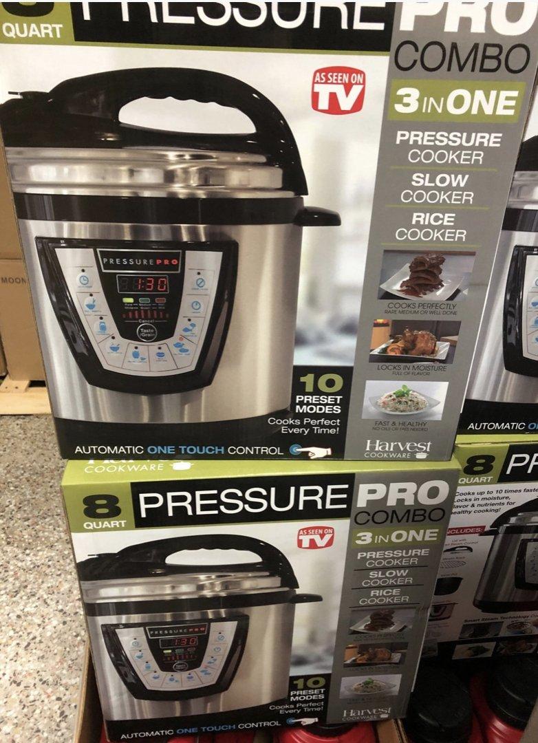 Harvest Cookware Electric Original Pressure Pro Cooker