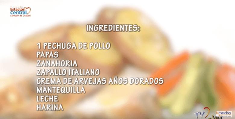 Cocina Feliú Cruz POLLO CON PAPAS