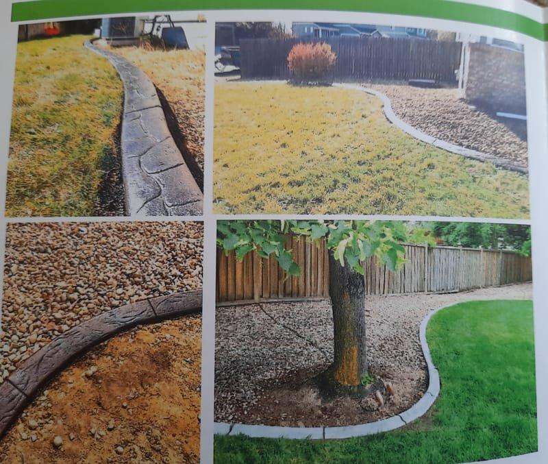 Concrete curbs/edging